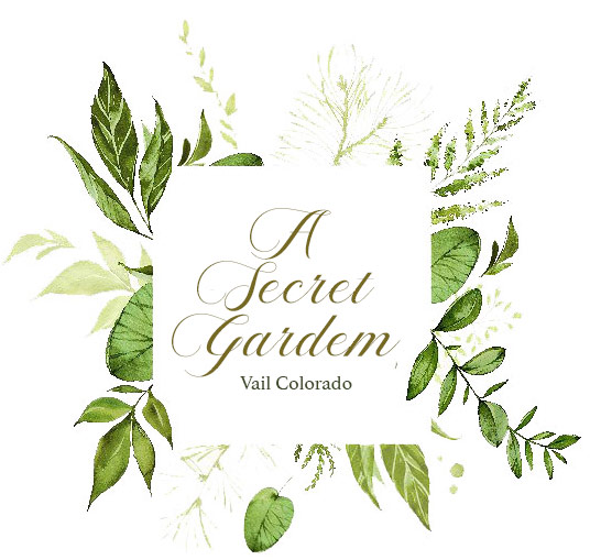 A Secret Garden, Vail Colorado Logo