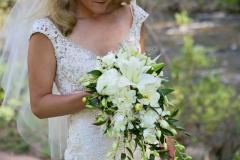Spierings cascade bouquet